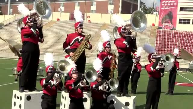 New Manchester High Band at 2013 JSU Contest of Champions MBF in Jacksonville, Alabama