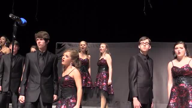 Pisgah High Choir - Innergy Performance at 2014 West Jones Show Choir in Laurel, MS