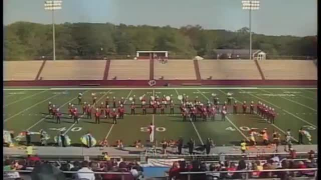 Sylacauga High Band at 2010 Heart of Dixie MBF in Prattville, Alabama