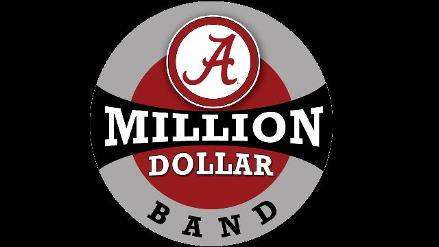 University of Alabama Million Dollar Band Seniors 2017