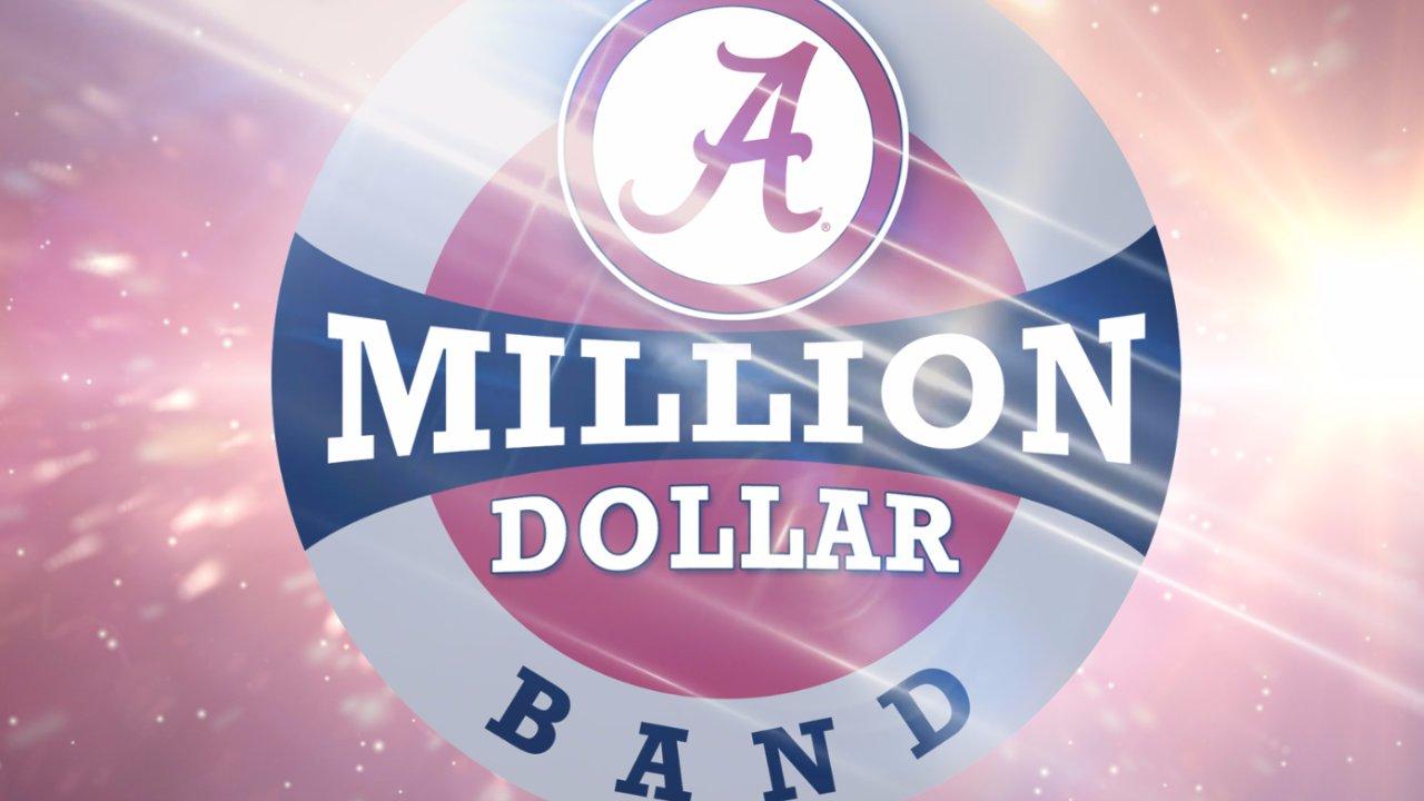 University of Alabama Million Dollar Band Seniors 2017