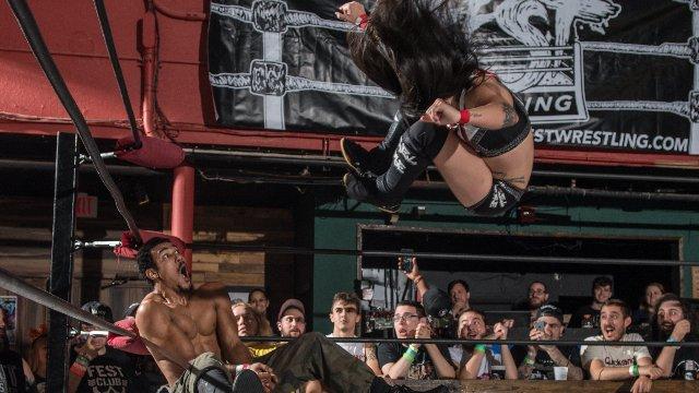 FEST Wrestling Championship Tournament Angel Rose vs. AR Fox
