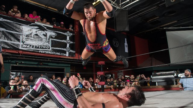 FEST Wrestling Championship Tournament Chuck Taylor vs. Colt Cabana