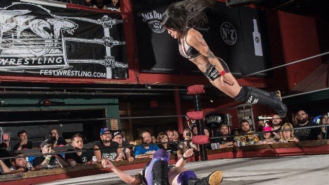 FEST Wrestling Championship Tournament Angel Rose vs. Heidi Lovelace