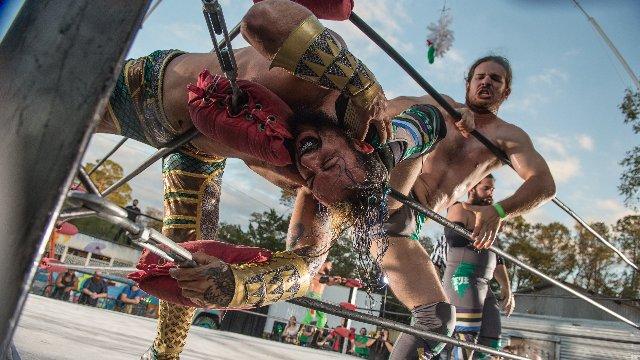FEST Wrestling Pickle In The Tree T.E.C.H. vs Mr. 450 & Jay Rios