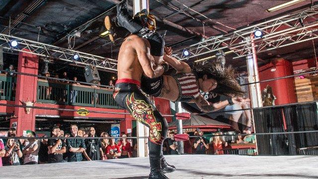 FEST Wrestling's Debut Show Lince Dorado vs. Angel Rose