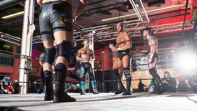 FEST Wrestling's Debut Show Fatal 4-Way Match Sonjay Dutt vs. Martin Stone vs. Teddy Stigma vs. Donovan Danhausen