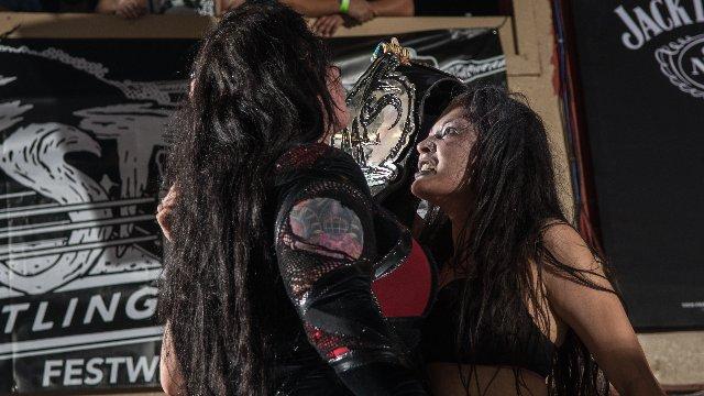 FEST Wrestling Championship Match at Love Is A Battlefield Jessicka Havok vs. Su Yung