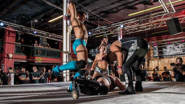FEST Wrestling's Debut Show Matt Knicks & Craig Mitchell vs. Beauty & The Beast