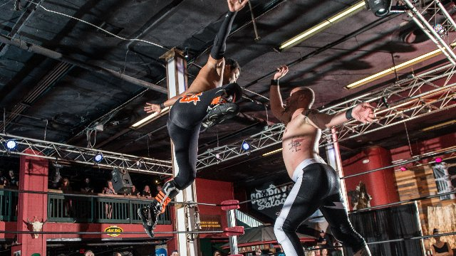 FEST Wrestling's Debut Show Aaron Epic vs. Jason Cade