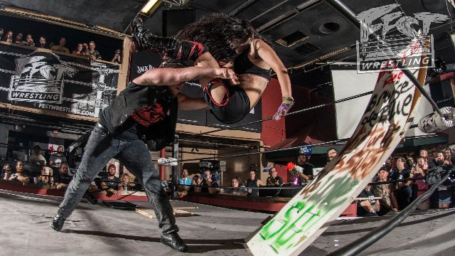 [FULL MATCH] Su Yung vs. Sami Callihan FEST WRESTLING Championship: Bring Your Mom