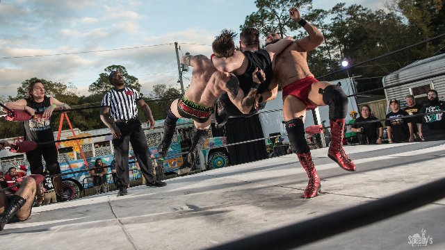 [FULL MATCH] AWAKEN vs. Arik Cannon, Beastly, Wolfe Taylor FEST WRESTLING: Pickle In The Tree