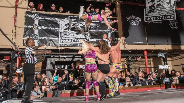 [FULL MATCH] Joey Janela & Penelope Ford vs. Laura James & Joey Ryan FEST WRESTLING #WEAREFAMILY