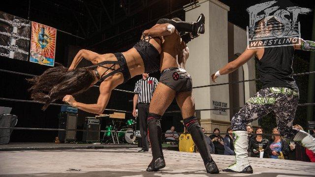[FULL MATCH] Karleena Gore vs. Jason Cade vs. Dezmond Xavier - Triple Threat Match #BRAWLBYTHEBEACH