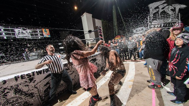 [FULL MATCH] Su Yung vs. Beastly FEST WRESTLING CHAMPIONSHIP MATCH #BRAWLBYTHEBEACH