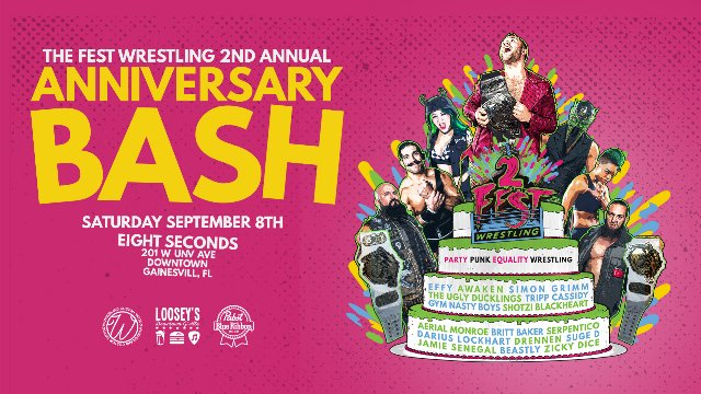 FEST - 2nd Anniversary Bash 9.8.18