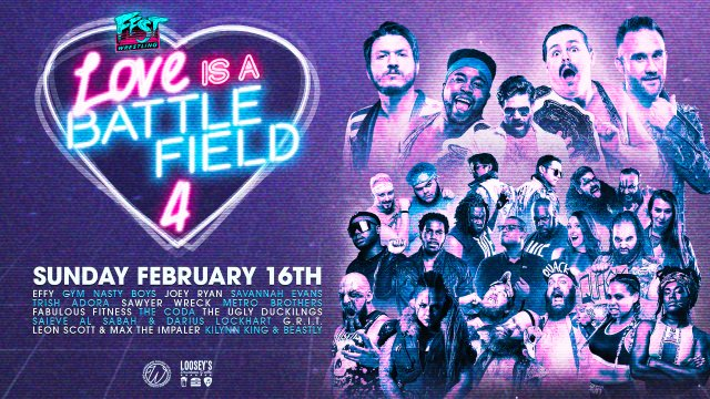 FEST - LOVE IS A BATTLEFIELD 4 / 2.16.20