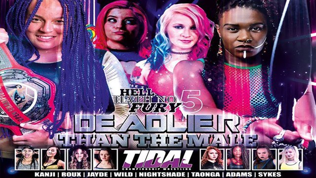 TCW Hell Hath No Fury 5: Deadlier Than The Male 29-09-19