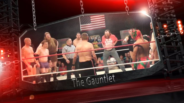 Gauntlet Match at Aftershock